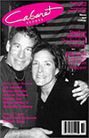 Cabaret Scenes Magazine Cover, October 2002