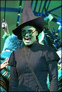 Idina Menzel in the Emerald City