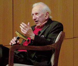 Studs Terkel photo - Terkel at age 94