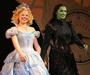 Wicked Glinda and Elphaba Costumes - copyright Ben Strothmann