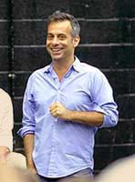 Joe Mantello, during rehersals for Wicked the Musical in London