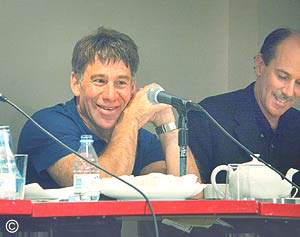 Stephen Schwartz and Craig Carnelia at ASCAP